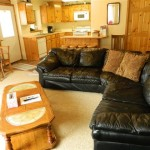 Canyon House Vacation Suite Living Room in White Bird ID